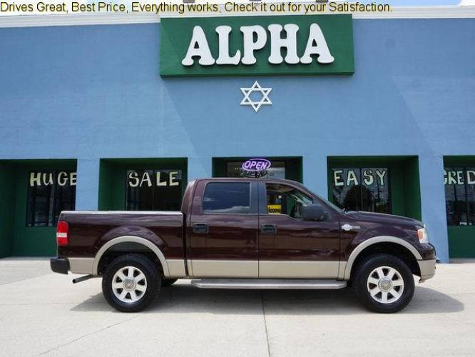 2005 Ford F-150 4 Dr Crew Pickup