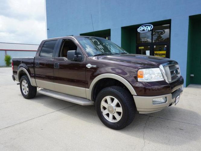 2005 Dark Copper Metallic Ford F-150 (1FTPW12595K) with an 5.4L 8 Cyl engine, 4 Spd Automatic transmission, located at 6904 Johnston St., Lafayette, LA, 70503, (337) 988-1960, 30.143589, -92.100601 - Photo #1