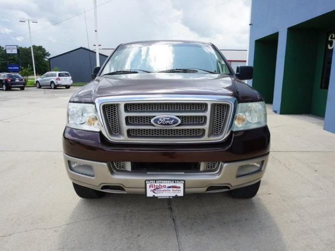 2005 Dark Copper Metallic Ford F-150 (1FTPW12595K) with an 5.4L 8 Cyl engine, 4 Spd Automatic transmission, located at 6904 Johnston St., Lafayette, LA, 70503, (337) 988-1960, 30.143589, -92.100601 - Photo #2
