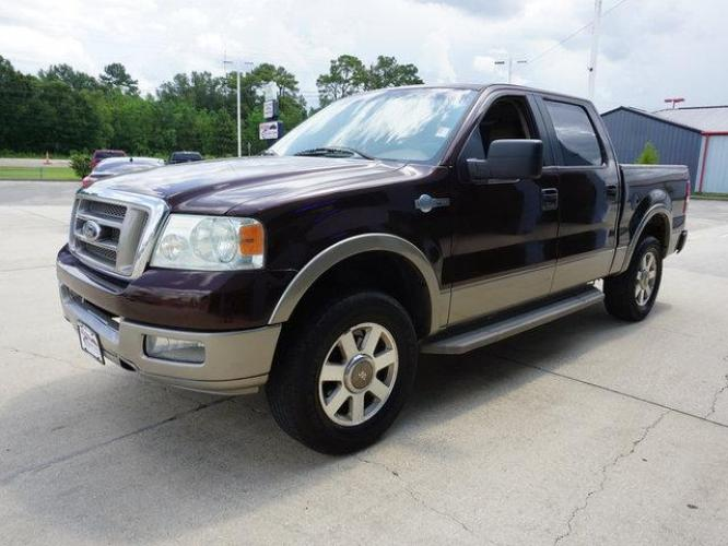 2005 Dark Copper Metallic Ford F-150 (1FTPW12595K) with an 5.4L 8 Cyl engine, 4 Spd Automatic transmission, located at 6904 Johnston St., Lafayette, LA, 70503, (337) 988-1960, 30.143589, -92.100601 - Photo #3