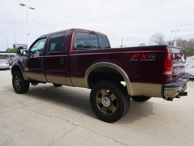 2006 Red Ford F-250 (1FTSW21P36E) with an 6.0L 8 Cyl engine, 6 Spd Hd Manual transmission, located at 6904 Johnston St., Lafayette, LA, 70503, (337) 988-1960, 30.143589, -92.100601 - Photo #5