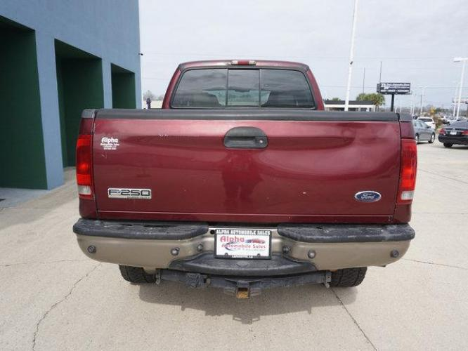 2006 Red Ford F-250 (1FTSW21P36E) with an 6.0L 8 Cyl engine, 6 Spd Hd Manual transmission, located at 6904 Johnston St., Lafayette, LA, 70503, (337) 988-1960, 30.143589, -92.100601 - Photo #6