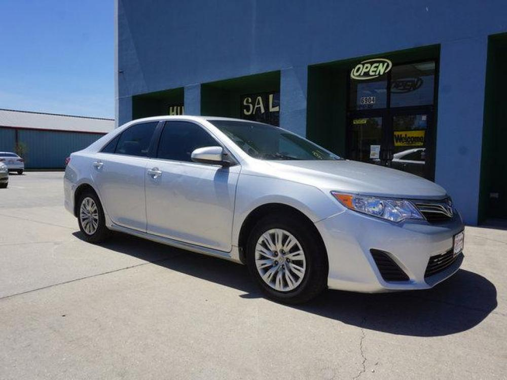 2013 Silver Toyota Camry (4T4BF1FK9DR) with an 2.5L 4Cyl engine, Automatic transmission, located at 6904 Johnston St., Lafayette, LA, 70503, (337) 988-1960, 30.143589, -92.100601 - Photo #1