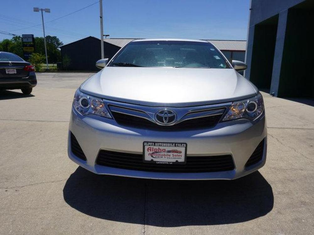 2013 Silver Toyota Camry (4T4BF1FK9DR) with an 2.5L 4Cyl engine, Automatic transmission, located at 6904 Johnston St., Lafayette, LA, 70503, (337) 988-1960, 30.143589, -92.100601 - Photo #2