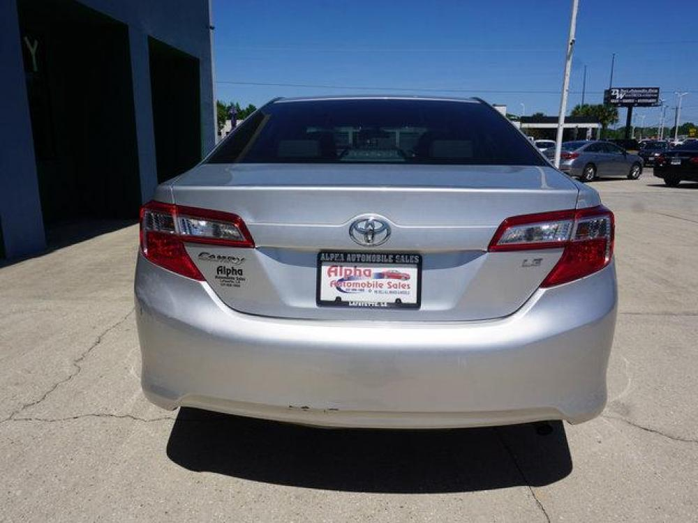 2013 Silver Toyota Camry (4T4BF1FK9DR) with an 2.5L 4Cyl engine, Automatic transmission, located at 6904 Johnston St., Lafayette, LA, 70503, (337) 988-1960, 30.143589, -92.100601 - Photo #6